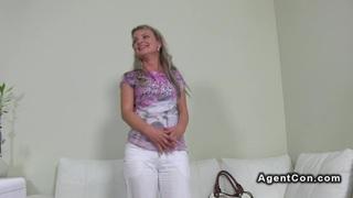 Image: Fake agent fucks blonde amateur babe casting euro