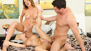 Bibi Noel & Raquel DeVine & Preston Parker in My Friends Hot Mom image