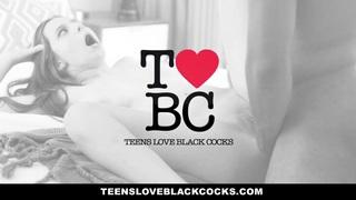 TeensLoveBlackCocks - Hungarian Teen's First Interracial image