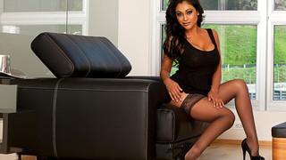 Priya Anjali Rai & Marco Rivera in My Friends Hot Mom image