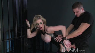 Image: BDSM XXX Big breasted blonde gets a hardcore lesson