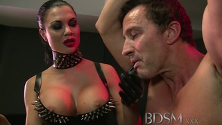 BDSM_XXX_Slave_boy_gets_anal_attention_from_Mistress image
