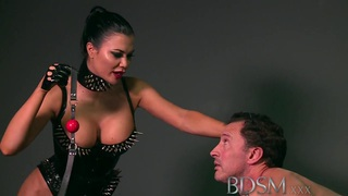 BDSM XXX Feisty slave girls learn the hard_way image