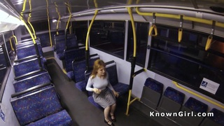 Busty hairy cunt amateur banged_in a bus image