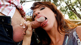 Ariella Ferrera & Johnny Sins in My Wife Shot Friend image