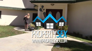 Super hot wife cheats on her_husband with real estate agent image