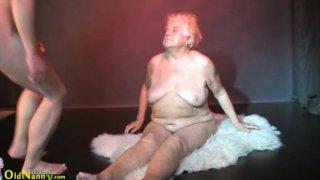 Image: Oldnanny - Fat granny, big mature and her boyfriend