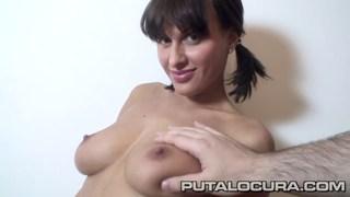 Cute Czech puts her beautiful_boobs to work image