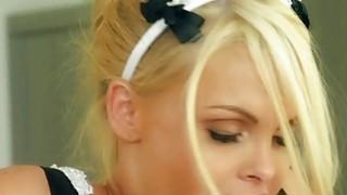 Big boobs blondie maid Jesse Jane fucked hard by her master image