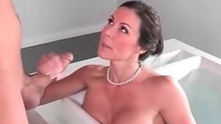 Step mom teach her daughter to suck image
