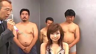Naughty Asian News Anchor Sucking image