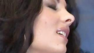 MILF In A Threesome With Two Guys image