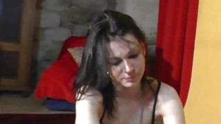 19yo czech amateur does strip and handjob for porn producer image