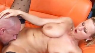Young Alice gets big tits_cummed image