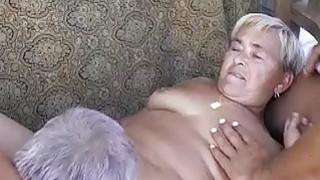 Image: OmaPass Two old men fucking very old BBW Granny