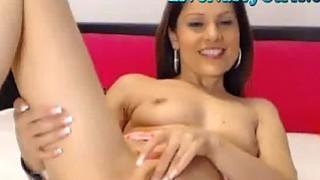 Image: Smoking Hot Brunette Webcam Girl 2