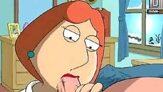 Family Guy Hentai Naughty Lois wants anal image
