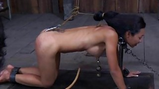 Lusty chick is tying up chick for torture session image