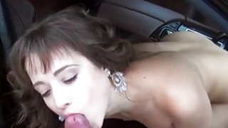 Teen Tassia loves free rides and anal image