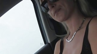 Image: Alena and dude bangs at the backseat of the car where he pounded her and cums