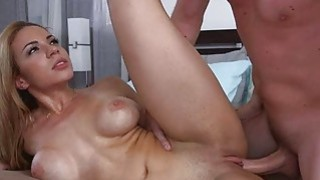 Latina maid Kylie Rogues creamy pussy image