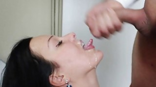 Messy facial_fun for Natali Blue after sex session image
