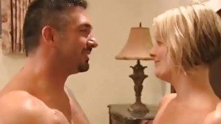 Hot blondies and some drinks turn  this reality in a XXX swingers show image