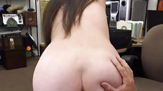 Image: Fetish latina babe tries to sell sex toys in pawn