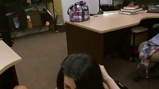 Image: Crazy Latina agrees to fuck Pawnshop owner for extra money