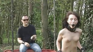 Image: Nataly restrained_outdoor_and humiliated hard