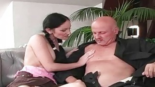 Hot Young Girls_and Lucky_Grandpas image