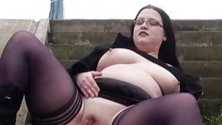 Fat Emmas public nudity and amateur_bbw_flashing image