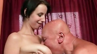 Grandpas and Pretty Teens Hot Sex Compilation image