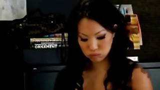 Busty_Asian_MILF_hired_horny_employee_to_work_on_her_pussy image