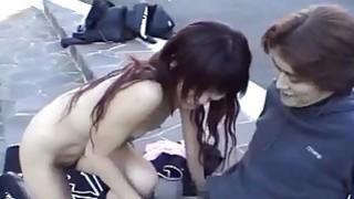 Subtitled extreme Japanese public nudity_blowjob image