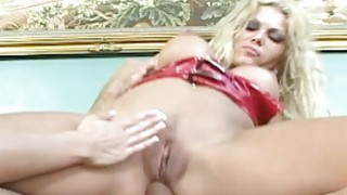 Anal threesome with Asian lass getting thrashed ro image