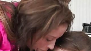 Stepmom_Eva_Notty_and_pretty_teen_Kacy_Lynn_share_a_shaft image