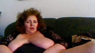 Amateur mature masturbation with sex toy_on webcam image