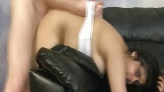 Indian girl bent over and roughly fucked image