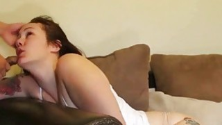 Amateur Chubby Brunette Rough Sex image