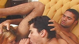 Greatlooking 3some bisex scene will turn you on image