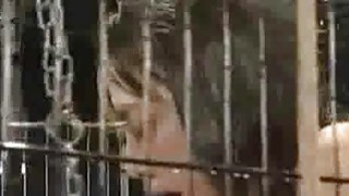 Caged_And_Sprayed_Asian_Teen image