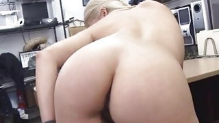 Sweet sexy blonde babe getting fucked up image