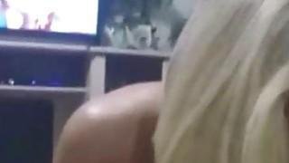 Hot Blonde MILF handjob and Facial image