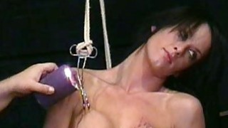 Image: Busty Danii Blacks nipple torture and big tit clam