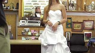 A Wedding Dress Leads To A Revenge Fuck At The Pawnshop image