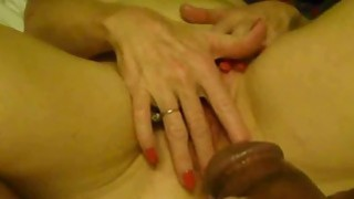 Housewife Masturbates for her Lover image