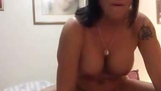 Amateur Grandma fucks BBC image