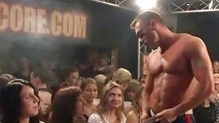 Uncensored fuckfest party with horny men and babes image
