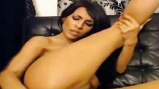 Round Ass Latina Babe Sexy Dance Masturbation image